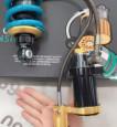 Phuộc Nitron chính hãng Việt Nam 2 bình dầu cho Exciter 150