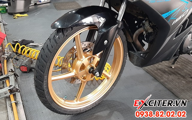 Vỏ michelin pilot street 2 9080-17 cho exciter - 1