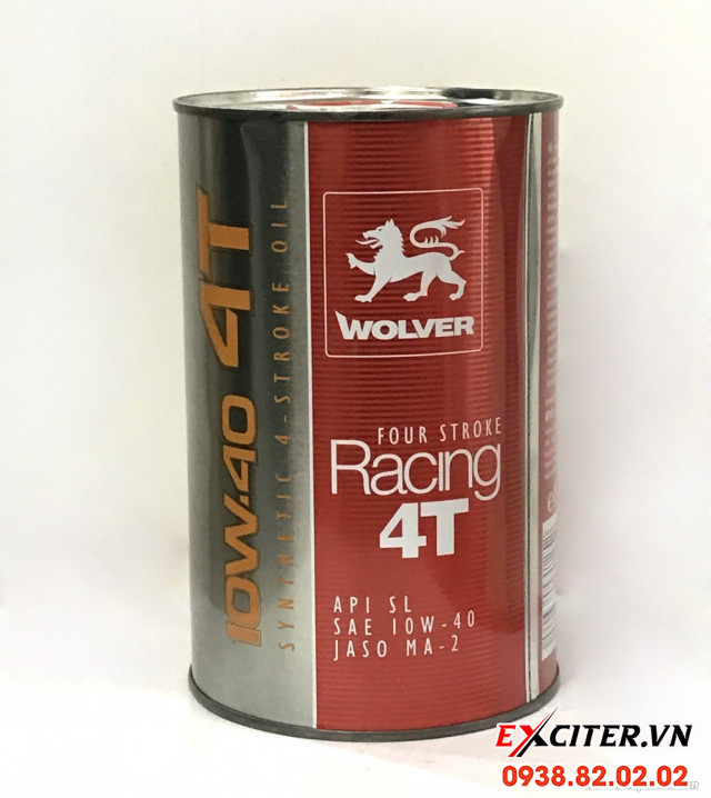 Nhớt wolver racing 4t 4 stroke cho exciter 150 - 1