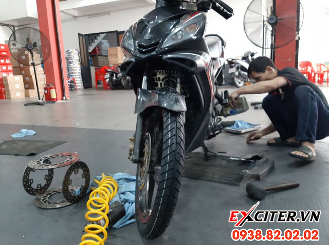Vỏ michelin city grip pro 7090-17 cho exciter - 2
