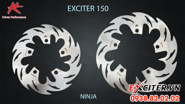 Đĩa thắng sau k-driven ninja chính hãng - 1