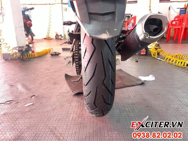 Vỏ pirelli diablo rosso sport 11070-17 cho exciter - 1