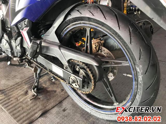 Vỏ pirelli diablo rosso sport 10080-17 cho exciter - 1