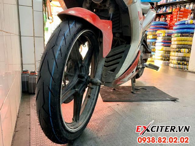 Vỏ pirelli diablo rosso sport 8090-17 cho exciter - 1