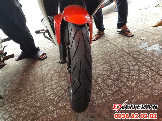 Vỏ pirelli diablo rosso sport 9080-17 cho exciter - 1