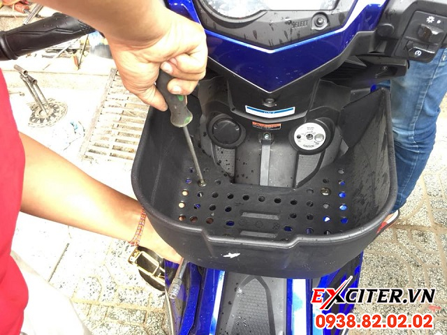 Rổ giữa appi cho exciter 150 - 2
