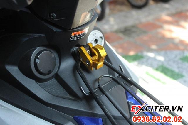Móc treo đồ biker cho exciter 150 - 2