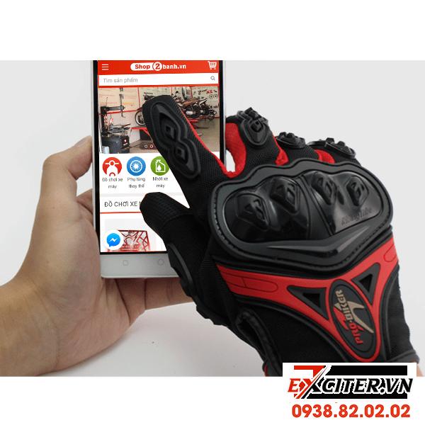 Găng tay bảo hộ cảm ứng điện thoại pro biker cho exciter 135 exciter 150 - 1
