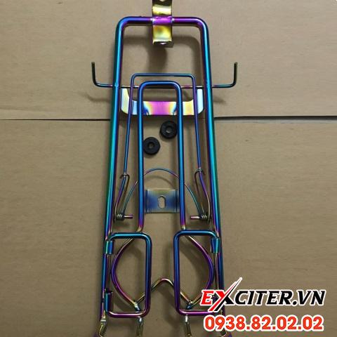 Baga inox 10 ly màu titan cho exciter 135 - 1