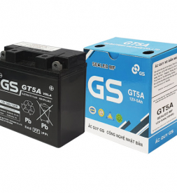 Bình ắc quy GS GT5A cho Exciter 150, Exciter 135