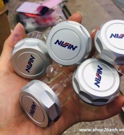 Bình dầu Nissin nắp nhôm CNC cho Exciter 135, Exciter 150