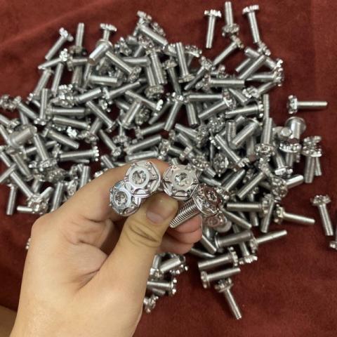 Bộ ốc đĩa Salaya inox cho Exciter (10 con)