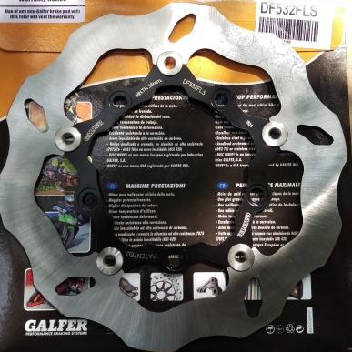 Đĩa Galfer lòng đen cho Exciter 150