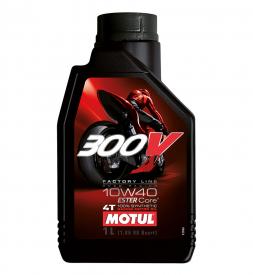Nhớt Motul 300V 10W40 1L cho Exciter 150