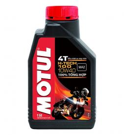 Nhớt Motul H-Tech 100 4T 10W40 cho Exciter