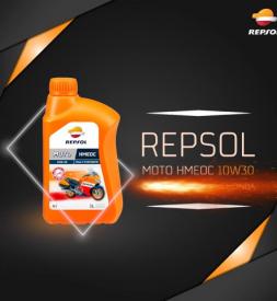 Nhớt Repsol Moto HMEOC 10W30 4T cho Exciter 150