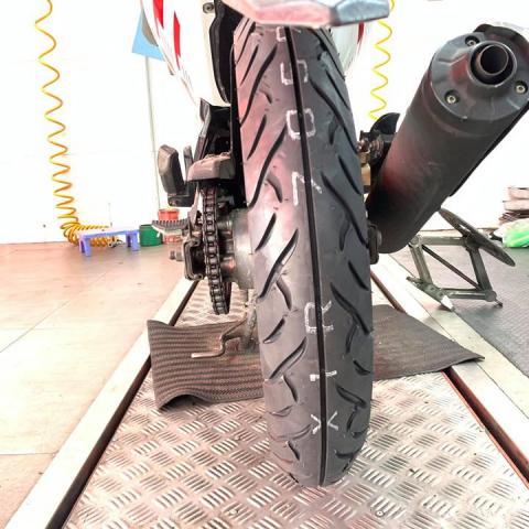 Vỏ Dunlop TT902 90/90-17 cho Exciter 135