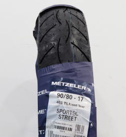 Vỏ Metzeler Sportec Street 90/80-17 cho Exciter