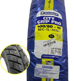 Vỏ Michelin City Grip Pro 100/80-17 cho Exciter