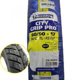 Vỏ Michelin City Grip Pro 80/90-17 cho Exciter