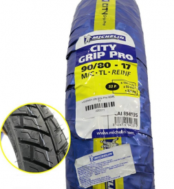 Vỏ Michelin City Grip Pro 90/80-17 cho Exciter