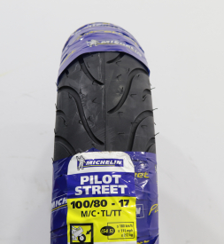 Vỏ Michelin Pilot Street 100/80-17 cho Exciter