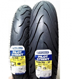 Vỏ Michelin Pilot Street 130/70-17 cho Exciter 150