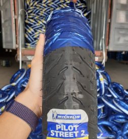 Vỏ Michelin Pilot Street 2 90/80-17 cho Exciter