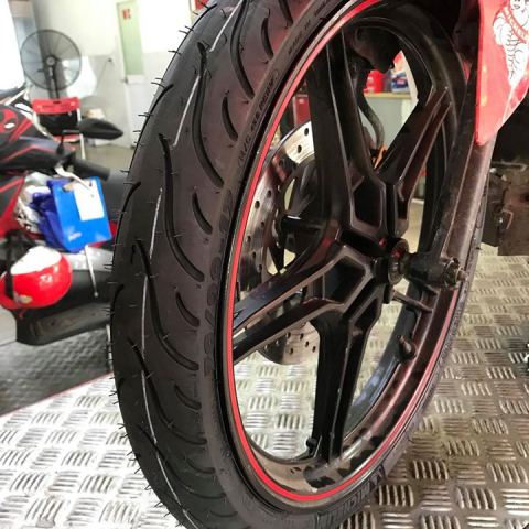 Vỏ Michelin Pilot Street 70/90-17 cho Exciter