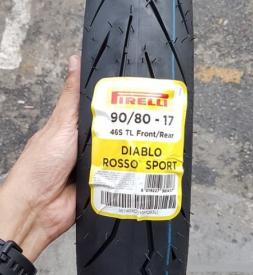 Vỏ Pirelli Diablo Rosso Sport 90/80-17 cho Exciter