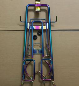 Baga inox 10 ly màu titan cho Exciter 135