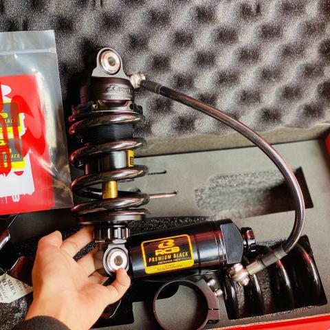 Phuộc RCB DB-2+ ty vàng cho Exciter 150