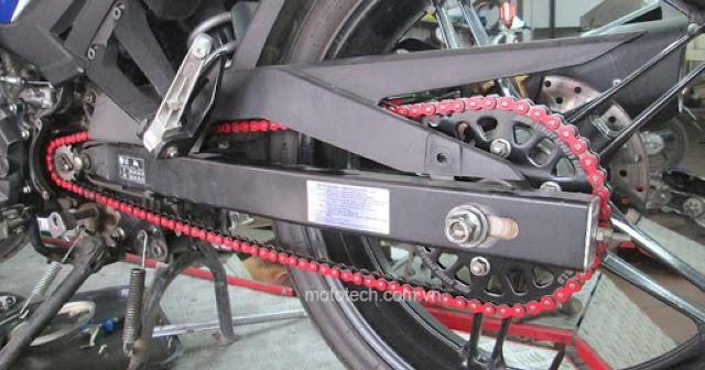 Dấu hiệu nhận biết cần thay nhông sên dĩa mới cho xe Exciter 150