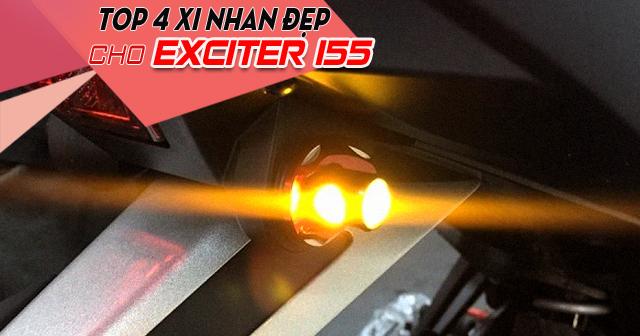 Top 4 xi nhan gọn đẹp cho Exciter 155 mới nhất 2021