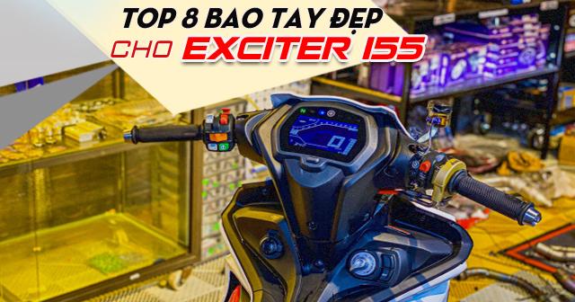 Top 8 bao tay đẹp cho Exciter 155 mới nhất 2021